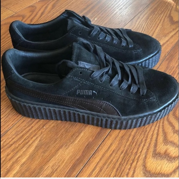 newest 29854 ca8aa Creepers from Puma's Fenty collection w/ Rihanna🖤